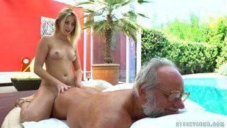 Aria Logan and her a lot older good friend – Grandpas Fuck Teenies
