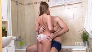 Euro Teenie-Sizzling Russian Teenie Alessandra Jane Will get her Attractive Twat Hammered